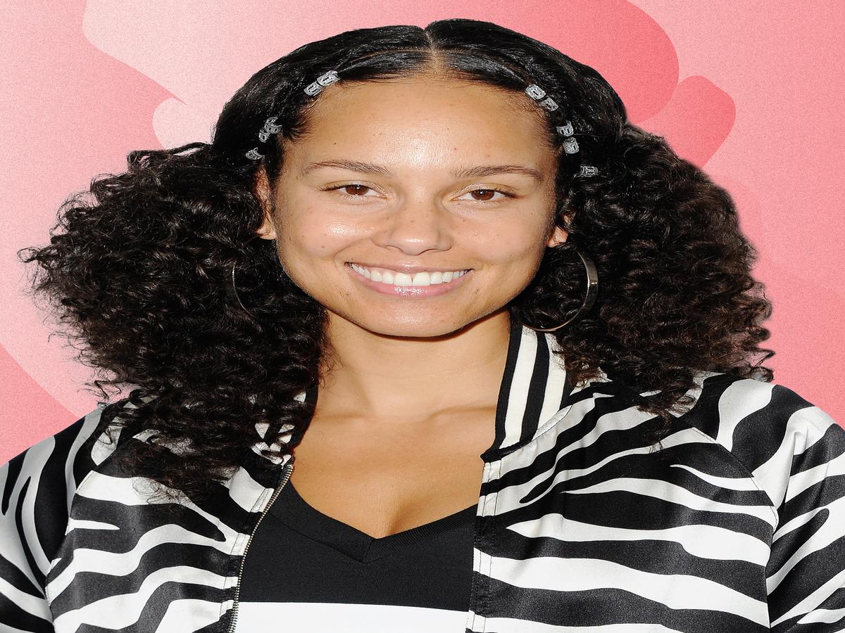 Alicia Keys' New Neon Hair Would Make Lisa Frank Proud