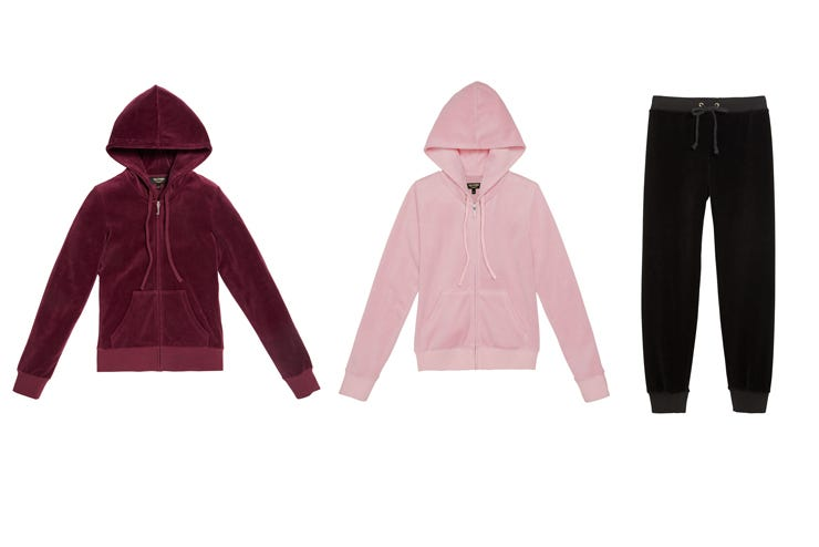 e625c822eb49e Juicy Couture Velour Tracksuit Collection Bloomingdales