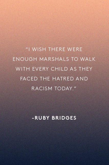 Ruby Bridges Quotes Inspiration Inspiring Words Civil Rights Era