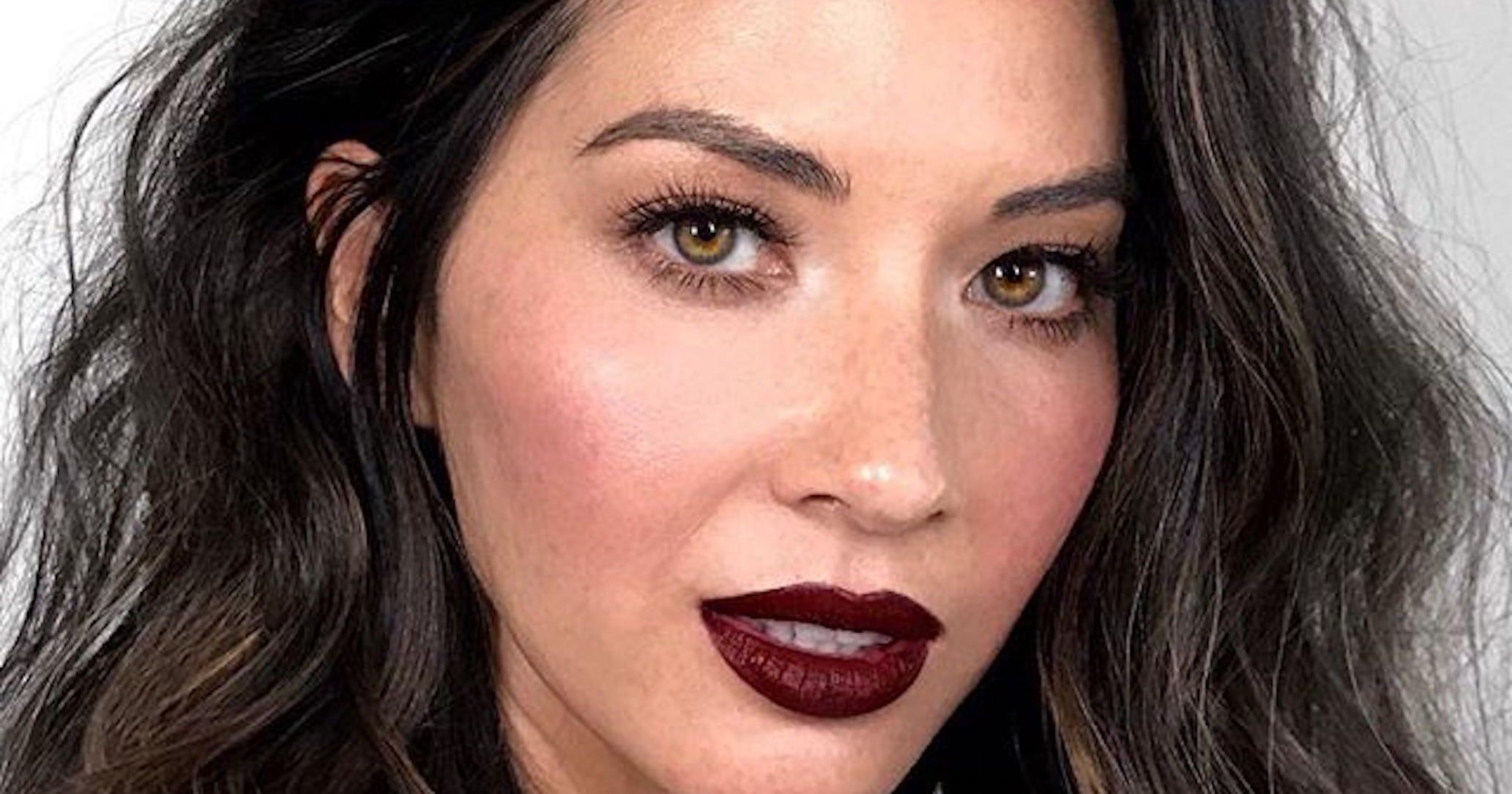 This Celeb Trick Makes Dark Lipstick Look SO Much Better