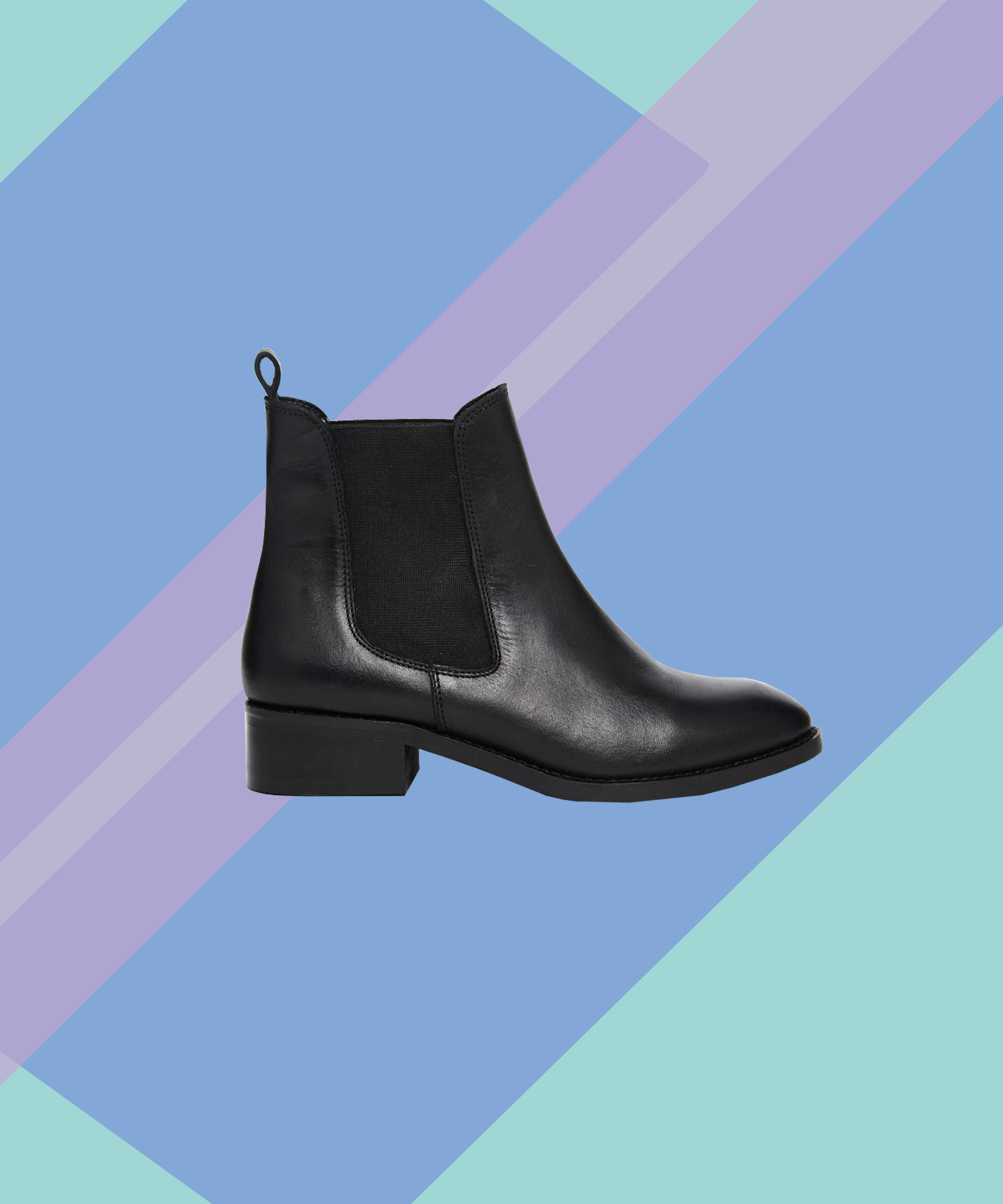 01dcc24302c ASOS Leather Chelsea Black Ankle Boots Review