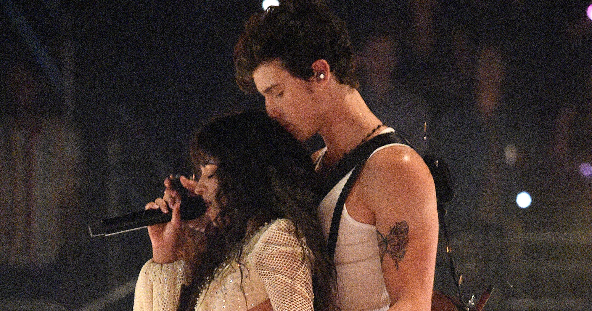 Shawn Mendes & Camila Cabello Lit Up The VMAs Stage For