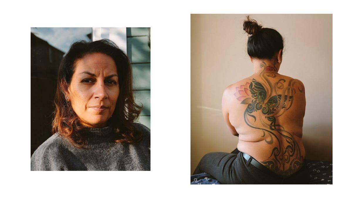 herz tattoo rücken