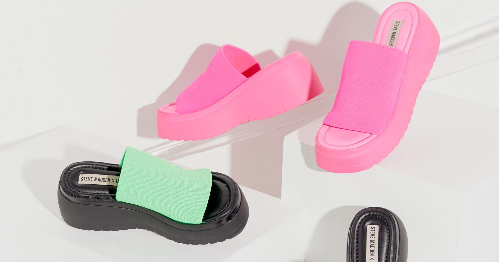 ea4fefd66c8d Steve Madden X Urban Outfitters 90s Platform Sandals