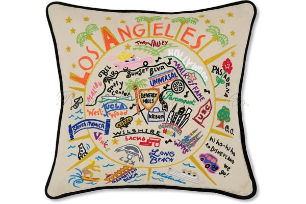 Best ebay finds catstudio los angeles decorative embroidered throw pillow buy it now at 149 available at ebay gumiabroncs Image collections
