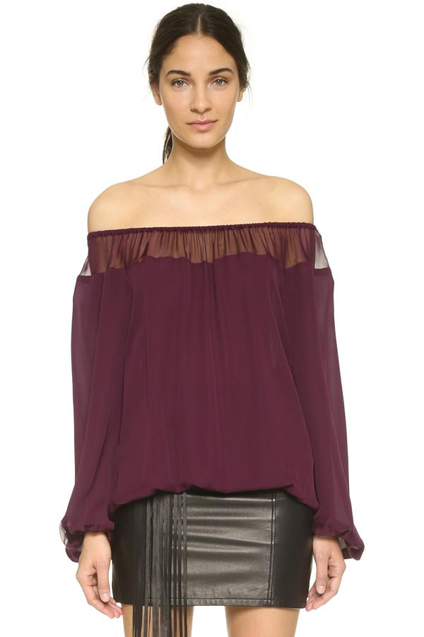 c4a41112d3c Off-The-Shoulder Trend - Tops, Blouses, Fashion Week