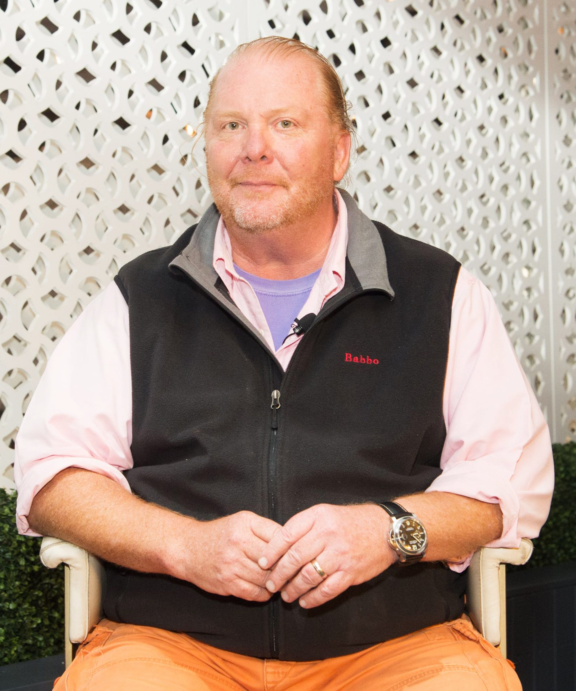 Mario Batali Will Officially No Longer Profit From Any Of His Restaurants