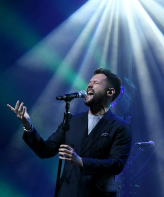 Out gay country music singer Calum Scott.