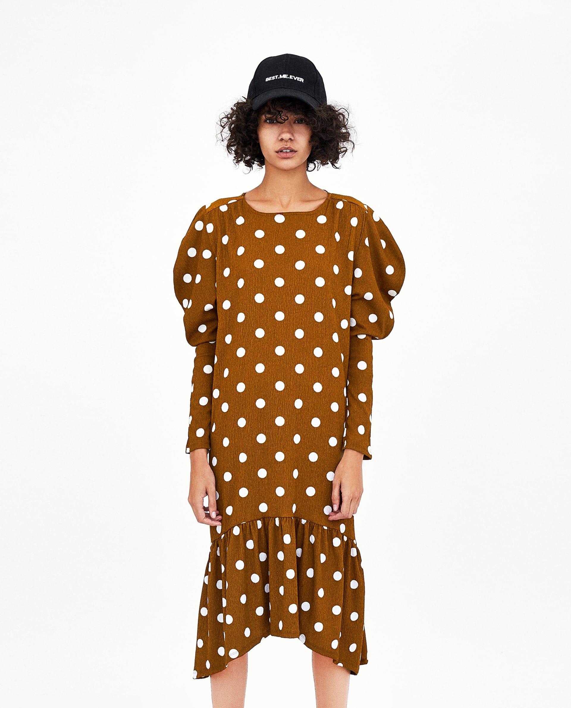 817570cb1cf Brown Polka Dot Trend