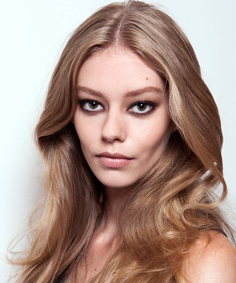 Middle Part Hair Style Trend