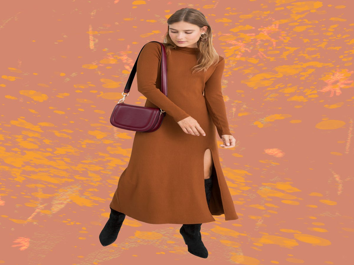 22 Sweater Dresses To Fight The Cold In This Winter