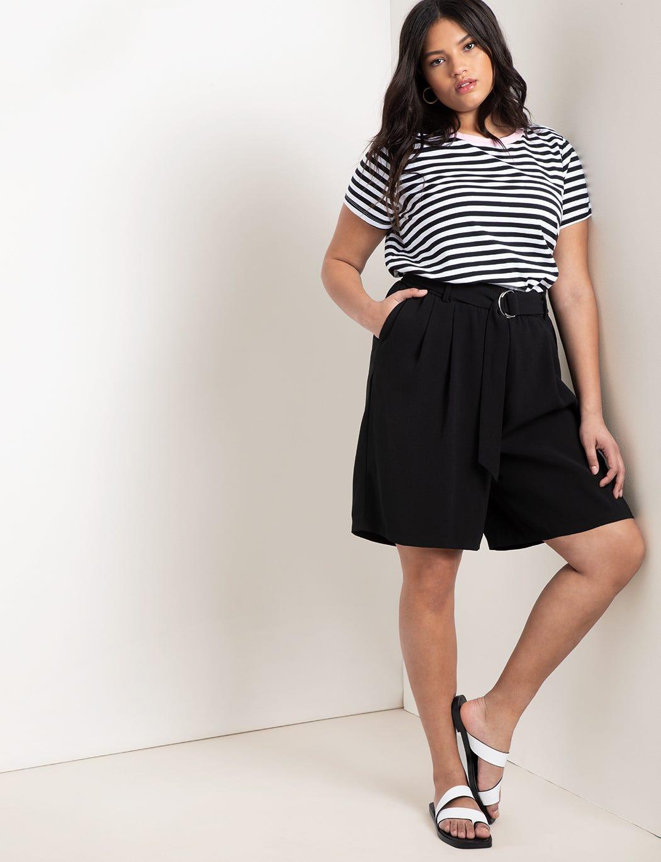 3b5f29088 Best Plus-Size Shorts - Curvy Bodies Summer Styles