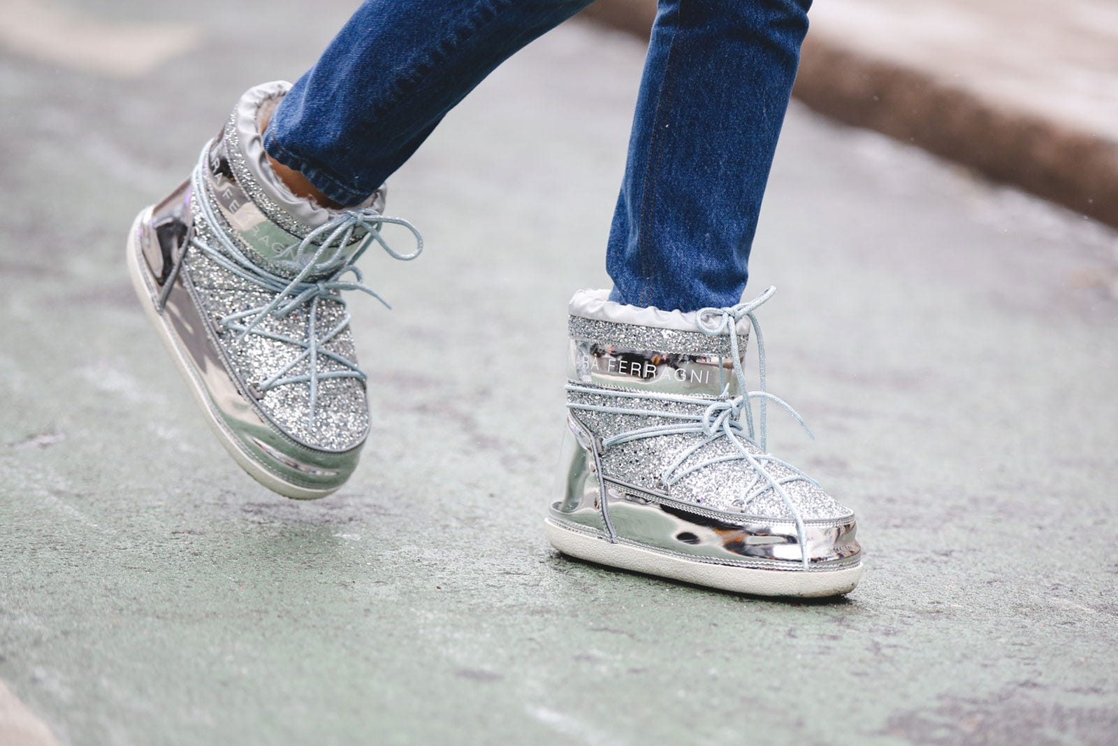 d184fd79b300 All Of The Best Practical Street Style Shoes AT NYFW