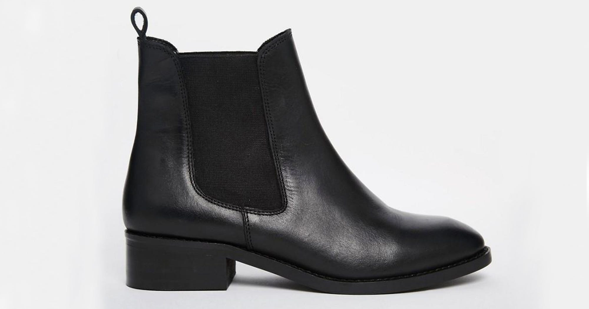 73496933aee ASOS Leather Chelsea Black Ankle Boots Review