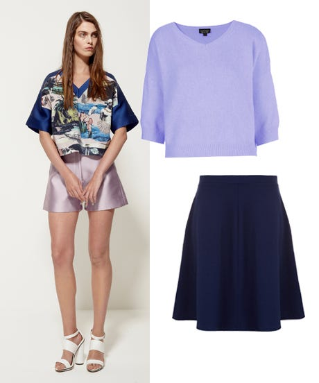 Crush This Color Combo Lilac Navy