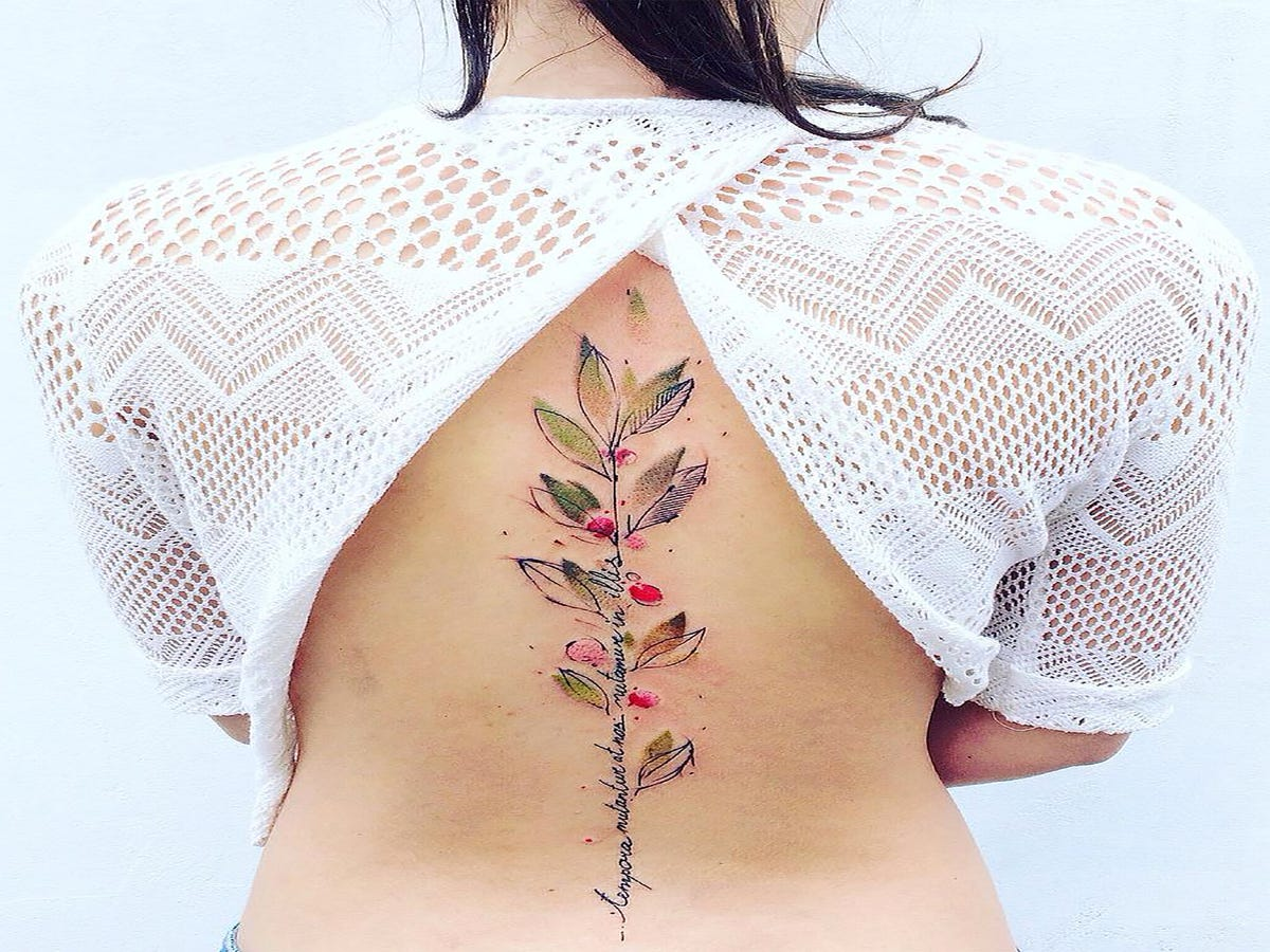 12 Watercolor Tattoos You ll Want To Get For Summer