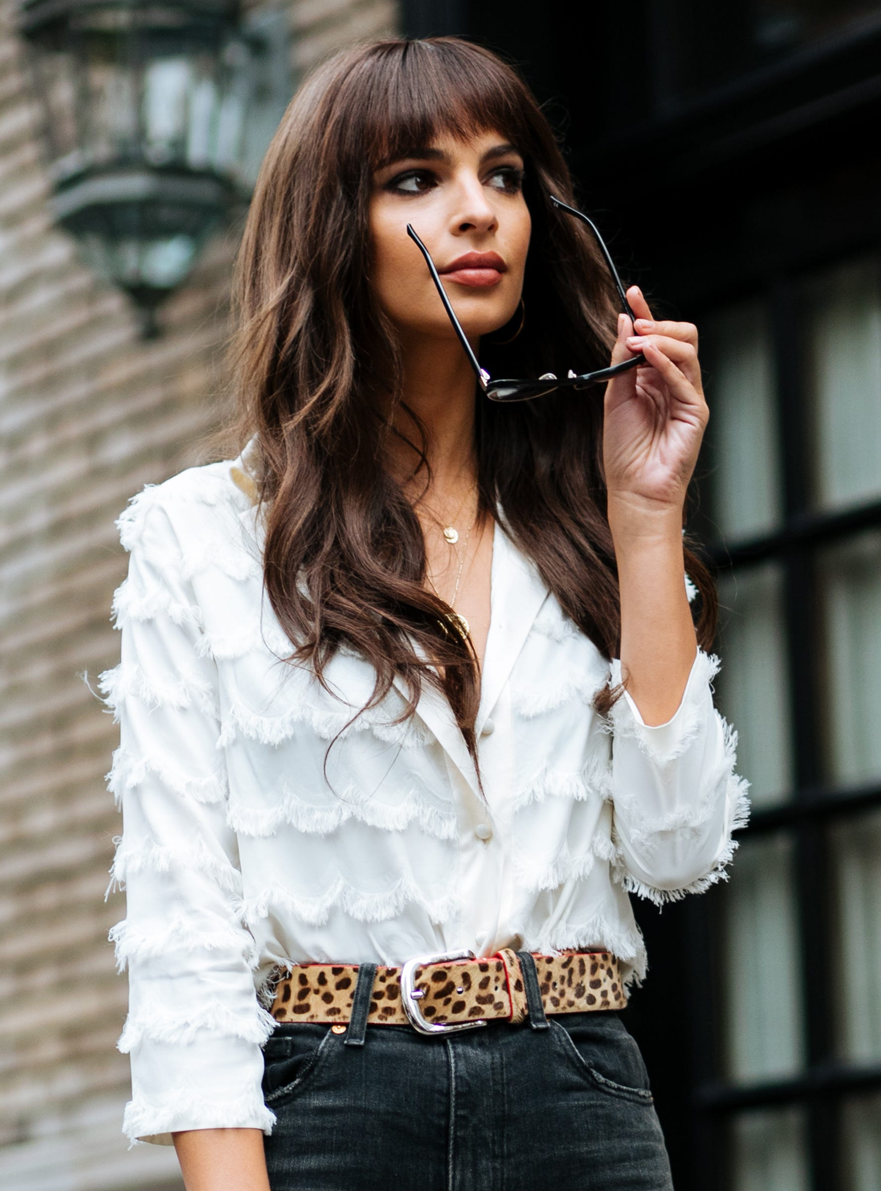 Lucy Hale Hair Fake Bangs Jenna Dewan Trend Photos