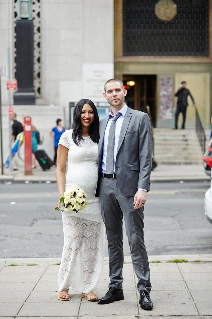 City Hall Wedding Outfits- Casual Bridal Gowns