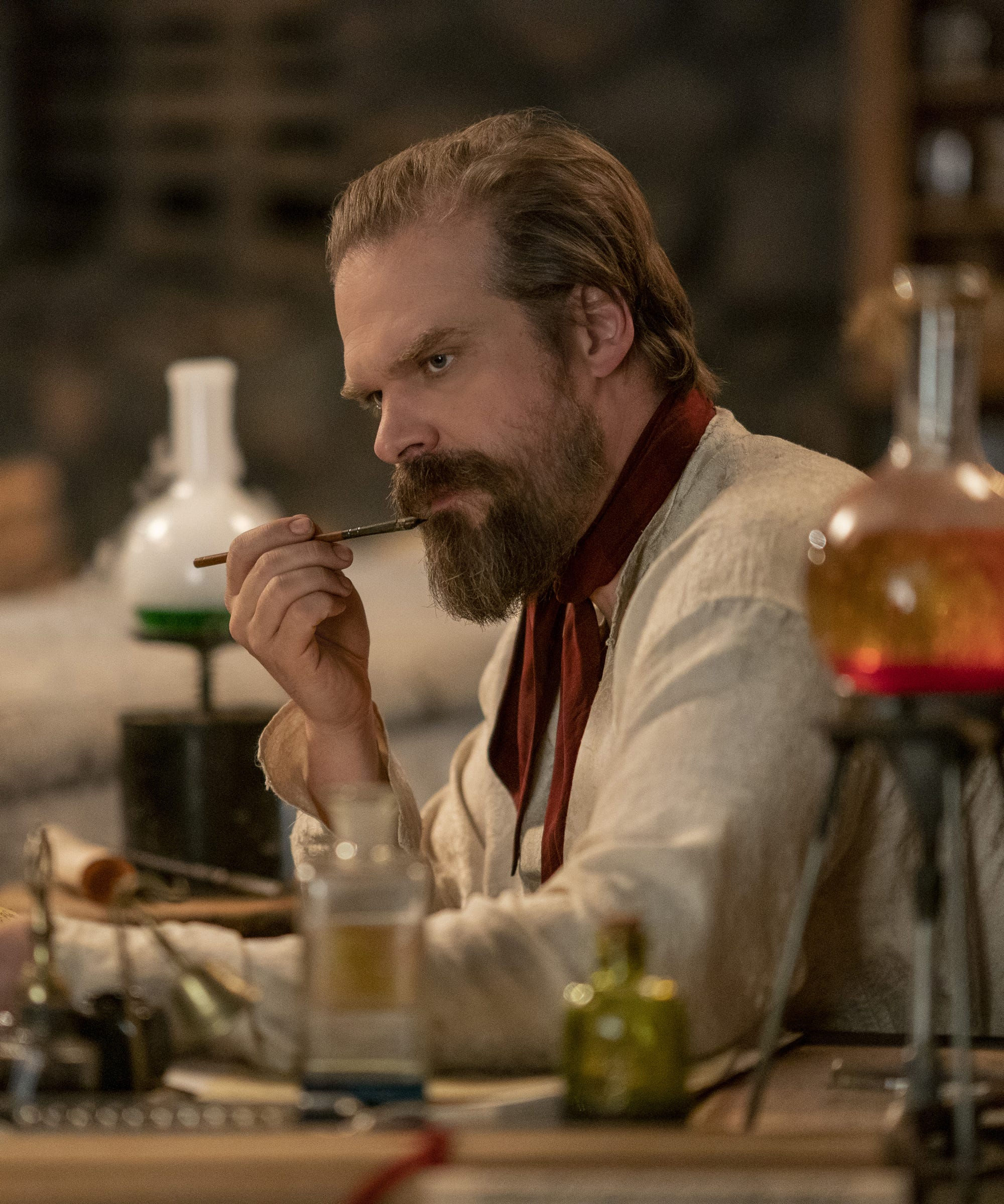Netflix's Frankenstein's Monster's Monster, Frankenstein Tells The Entirely Untrue Story Of David Harbour's Family