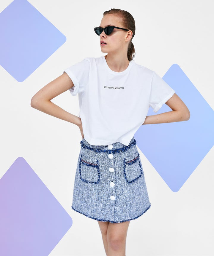 Trendy Mini Skirts To Try This Summer 2018