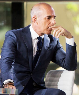 Matt Lauer Addresses The Sexual Harassment Allegations Against Him images 0