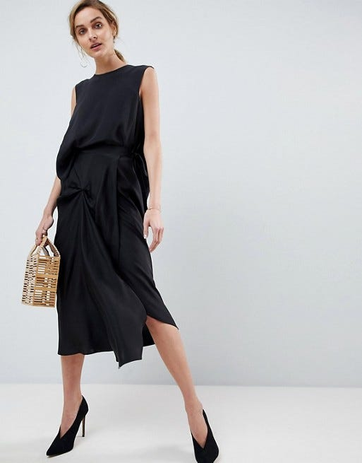 6ce40b6a85 The Best Silk Midi Skirts For A Summer Vacation Outfit