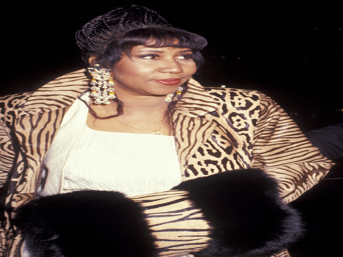 Aretha Franklin Was Calling For Diversity In Fashion In The  80s