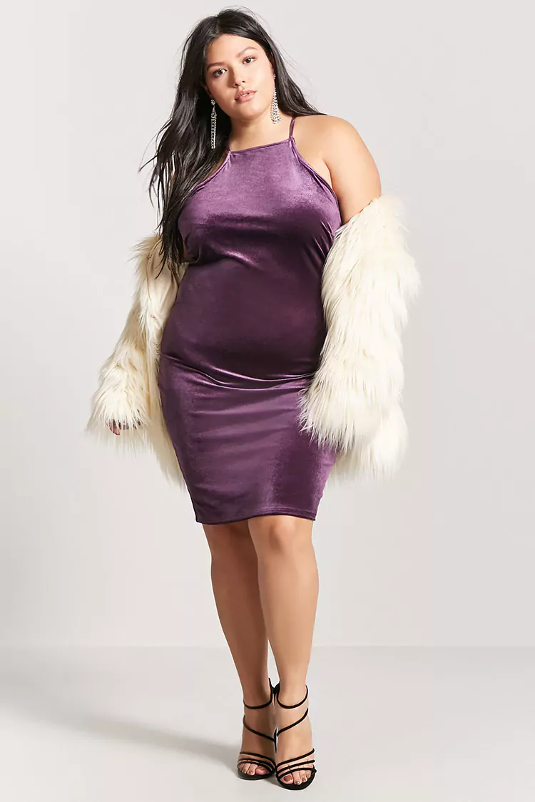Cute Trendy Plus Size Dresses For Holiday Parties