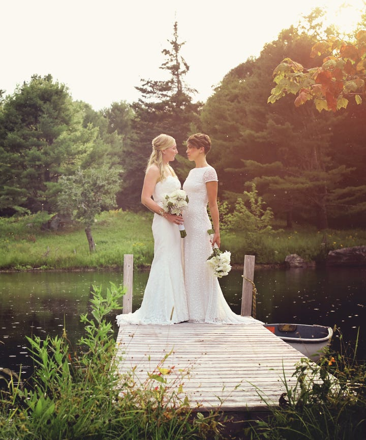 DIY Maine New England Wedding Pictures