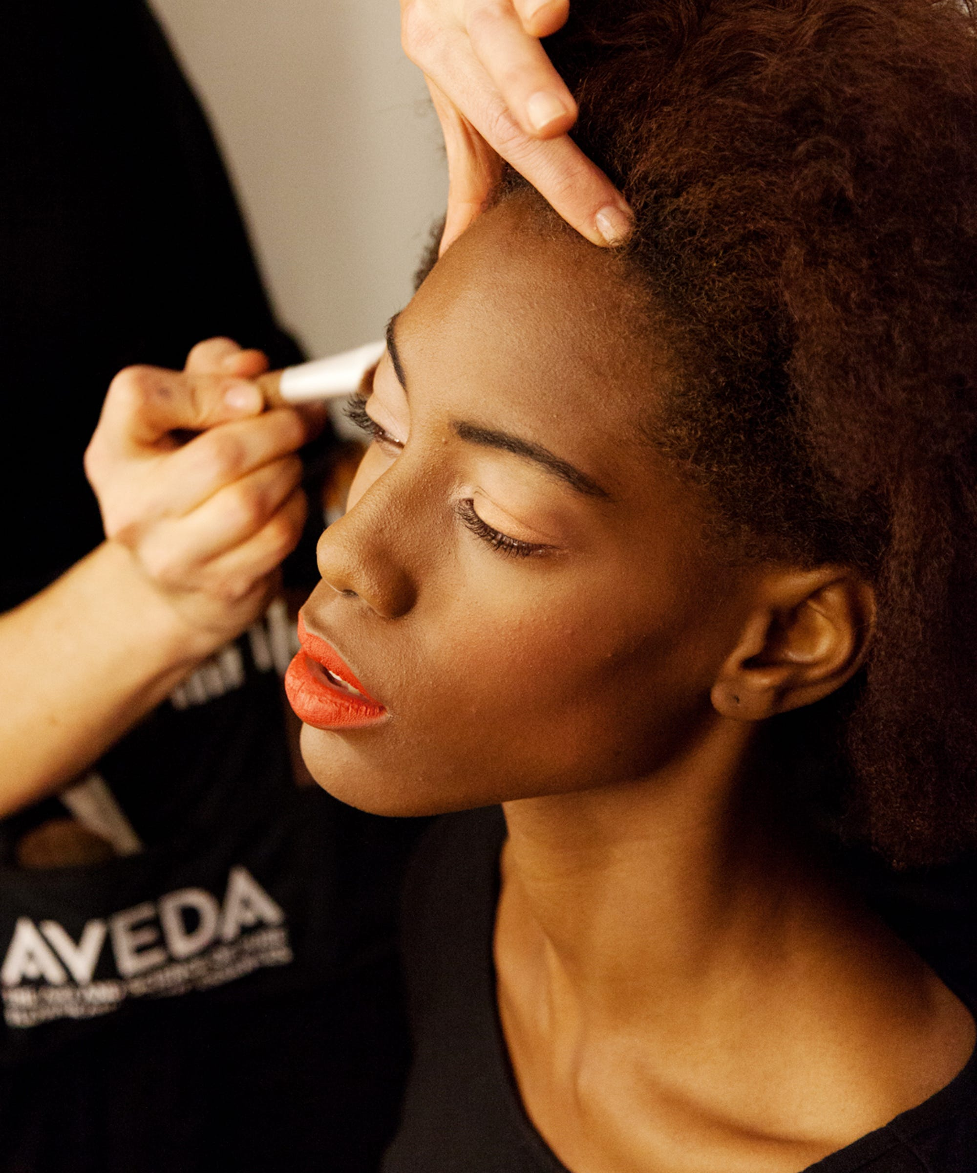 Makeup for mature black skin