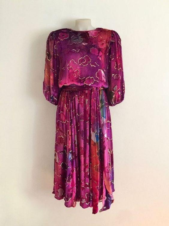 Clothing, Shoes & Accessories Nice Motherhood Dress Maternity 3/4 Sleeve Purple Size Small S Rapid Heat Dissipation