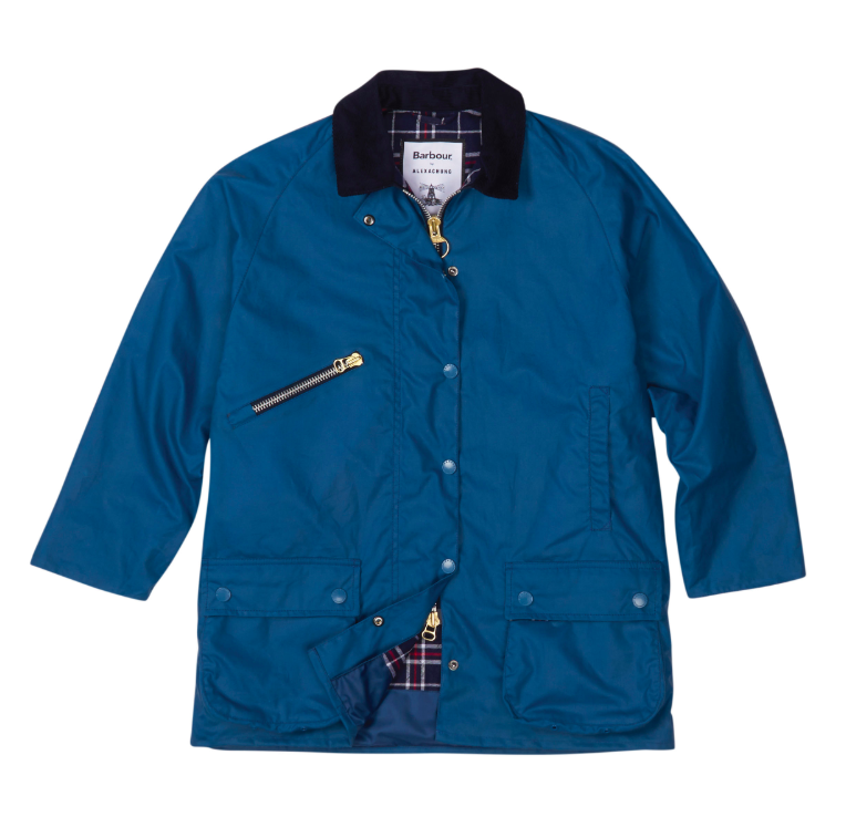 7496eb80f05b3 BARBOUR BY ALEXACHUNG. Barbour Edith Waxed Cotton Jacket ...