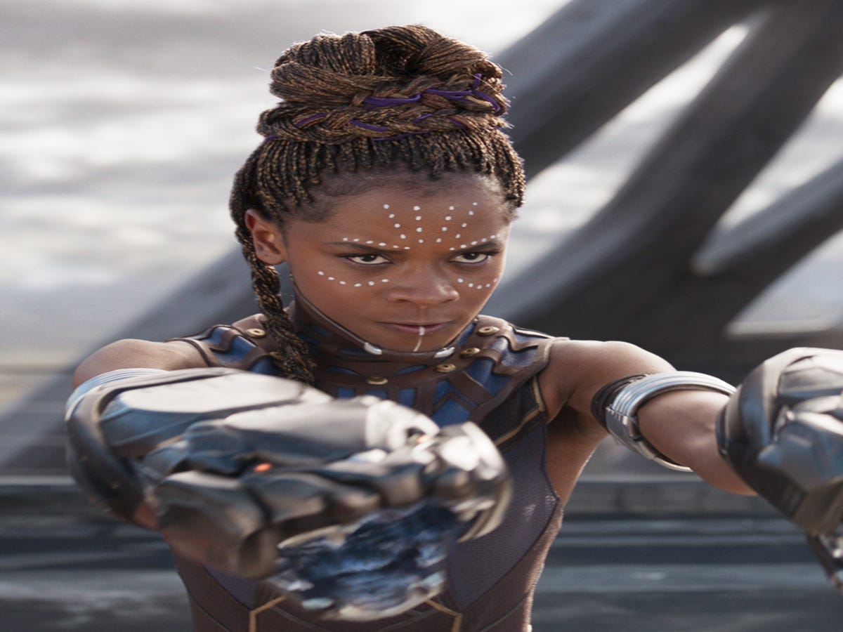 Black Panther s Breakout Star Letitia Wright Is No Disney Sidekick