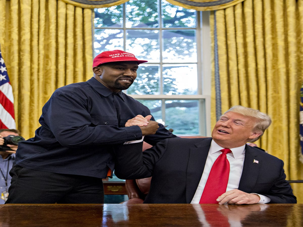 Kanye West May Have Just Summed Up Trump s Appeal To Men Perfectly
