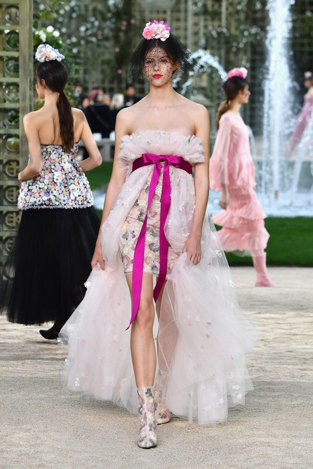 Chanel\'s French Garden For Couture Spring Summer 2018