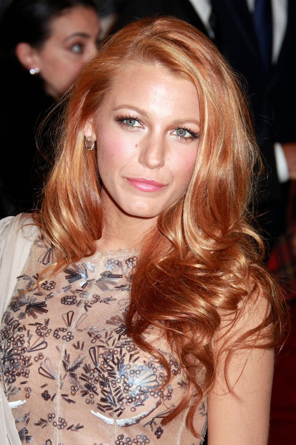 Red Hair Color Celebrities With Red Hair