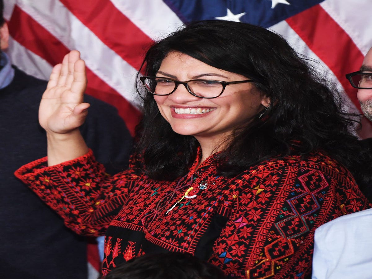 Rashida Tlaib Just Said What Everyone Else Is Too Afraid To Say Out Loud