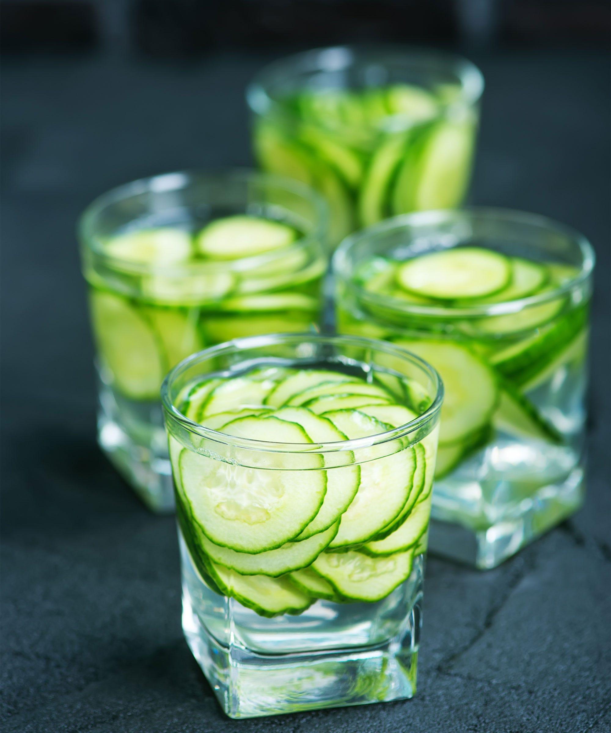 On vous explique les bienfaits de l'eau de concombre pour la santé