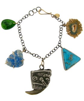 Using Organic Stones And Recycled Materials To Make Her Collection Of Jewelry Sustainable Designer Melissa Joy Manning Is
