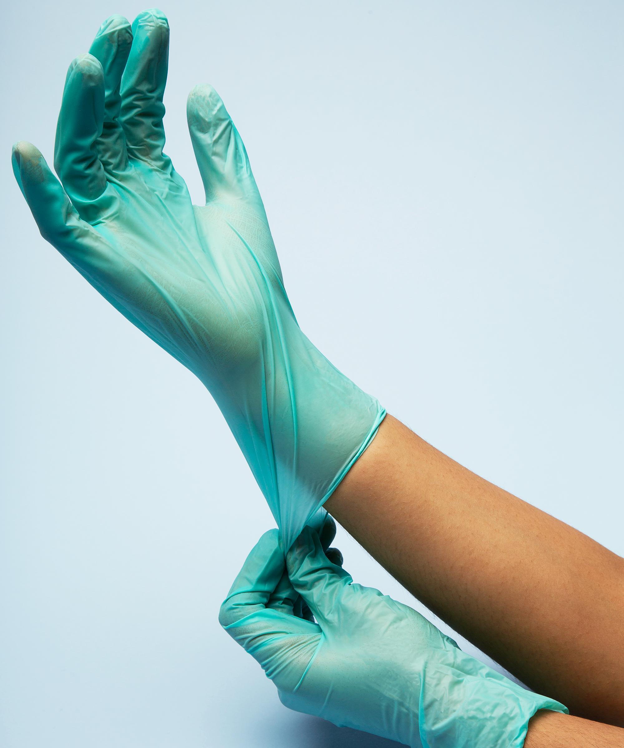 Chubby nurse glove