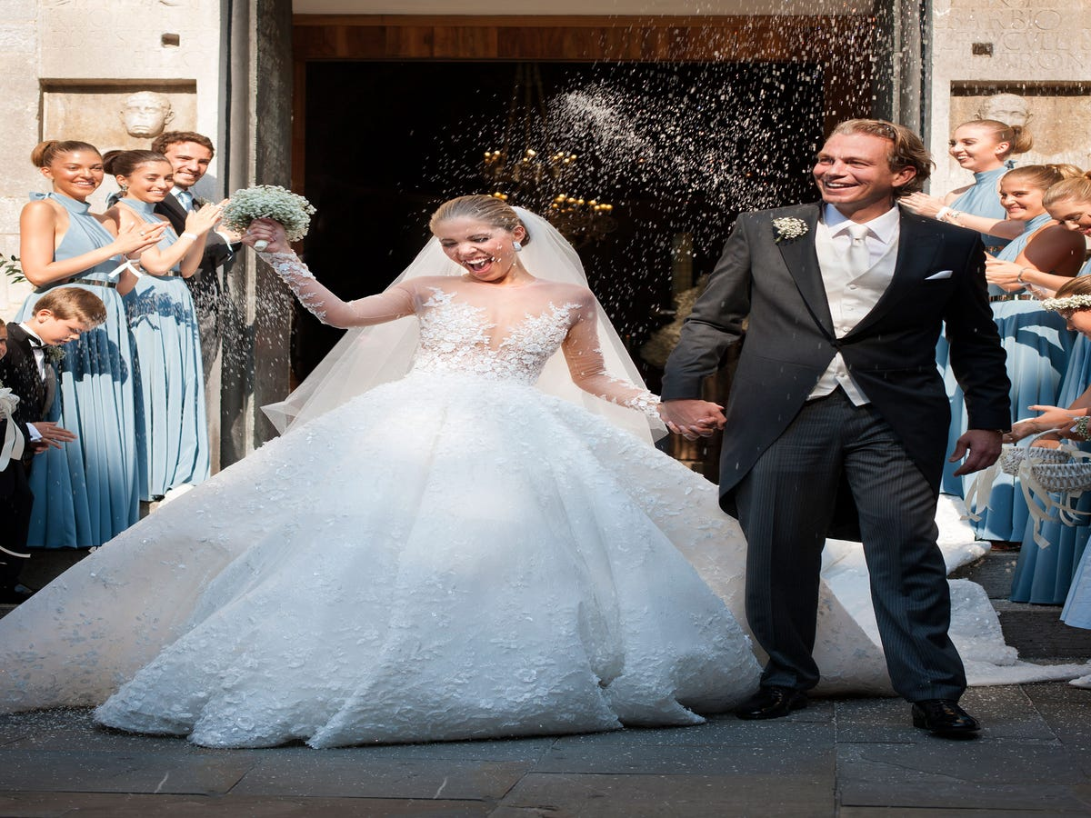 Image result for We've Seen Lots Of Crazy-Rich Weddings, But This One Made Our Eyes Pop Out
