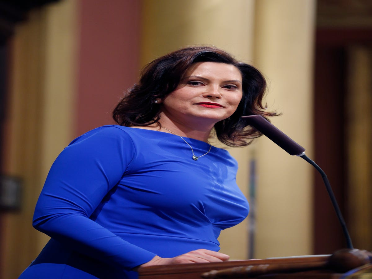 Governor Gretchen Whitmer Won't Stand For Sexist Comments About What She Wears