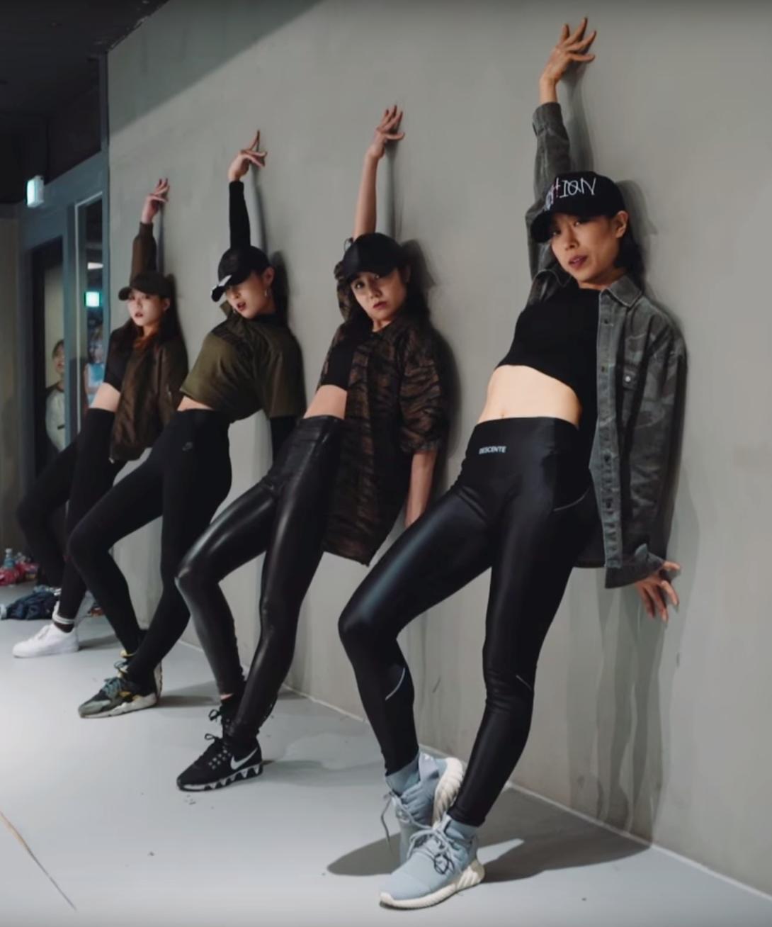 1million dance studio kpop choreography baditri Images