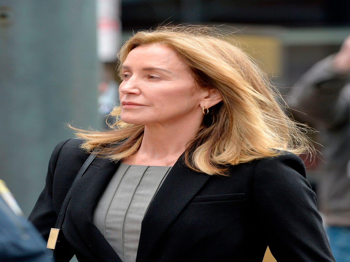 Felicity Huffman Pleaded Guilty In The College Admissions Scandal