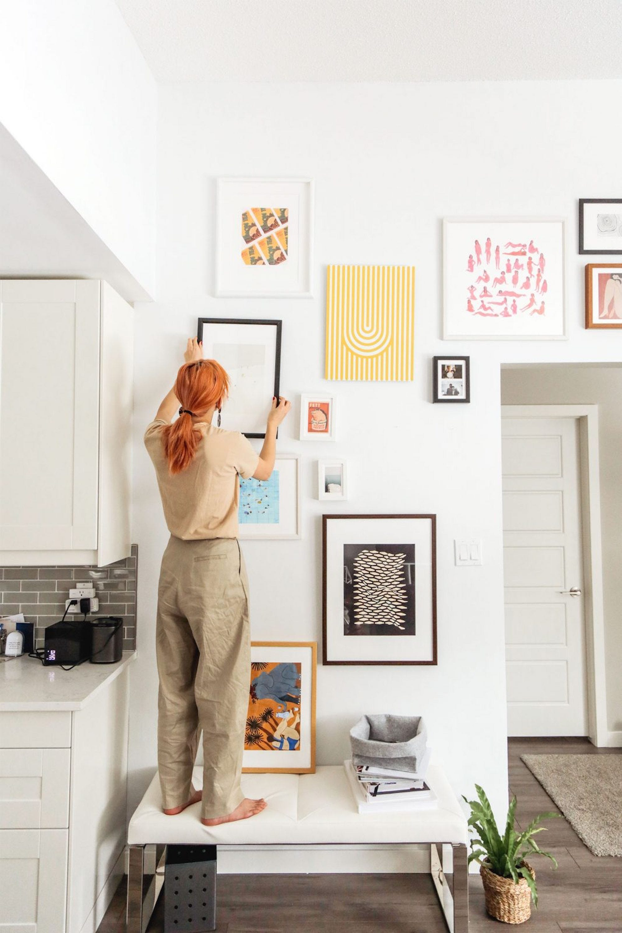 An Expert Guide To Buying & Styling Affordable Art For Your Home