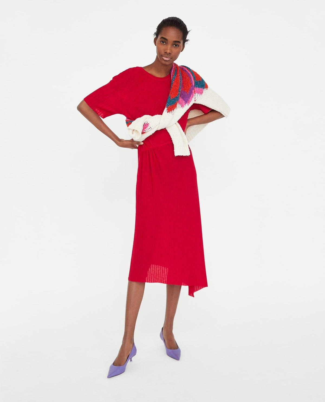 826c09351a Zara Midi Dress Trend Dresses For Women