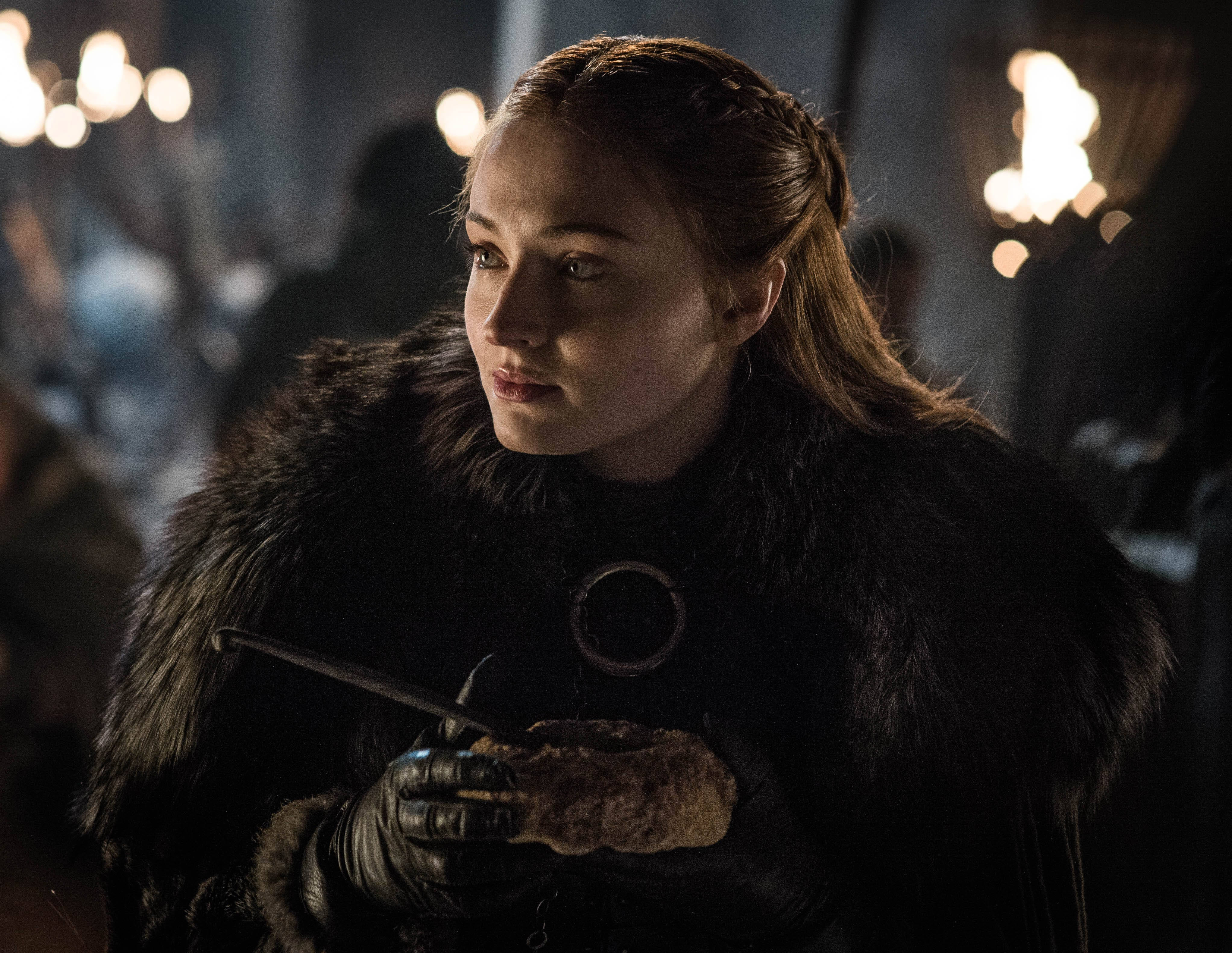 """Sophie Turner Has Seen That Game Of Thrones Petition & Thinks It's Totally """"Disrespectful"""""""