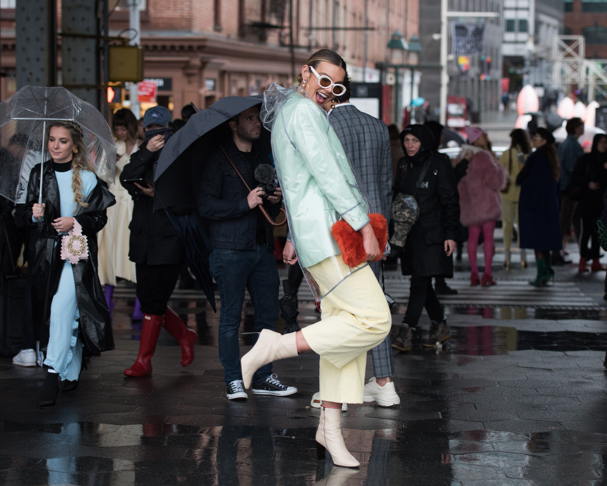 3c84f50e59 New York Fashion Week Winter 2018 Best Street Style