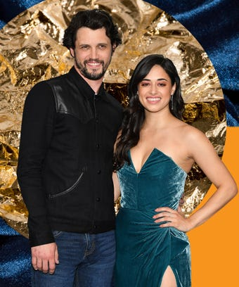 Nathan Parsons and Jeanine Mason