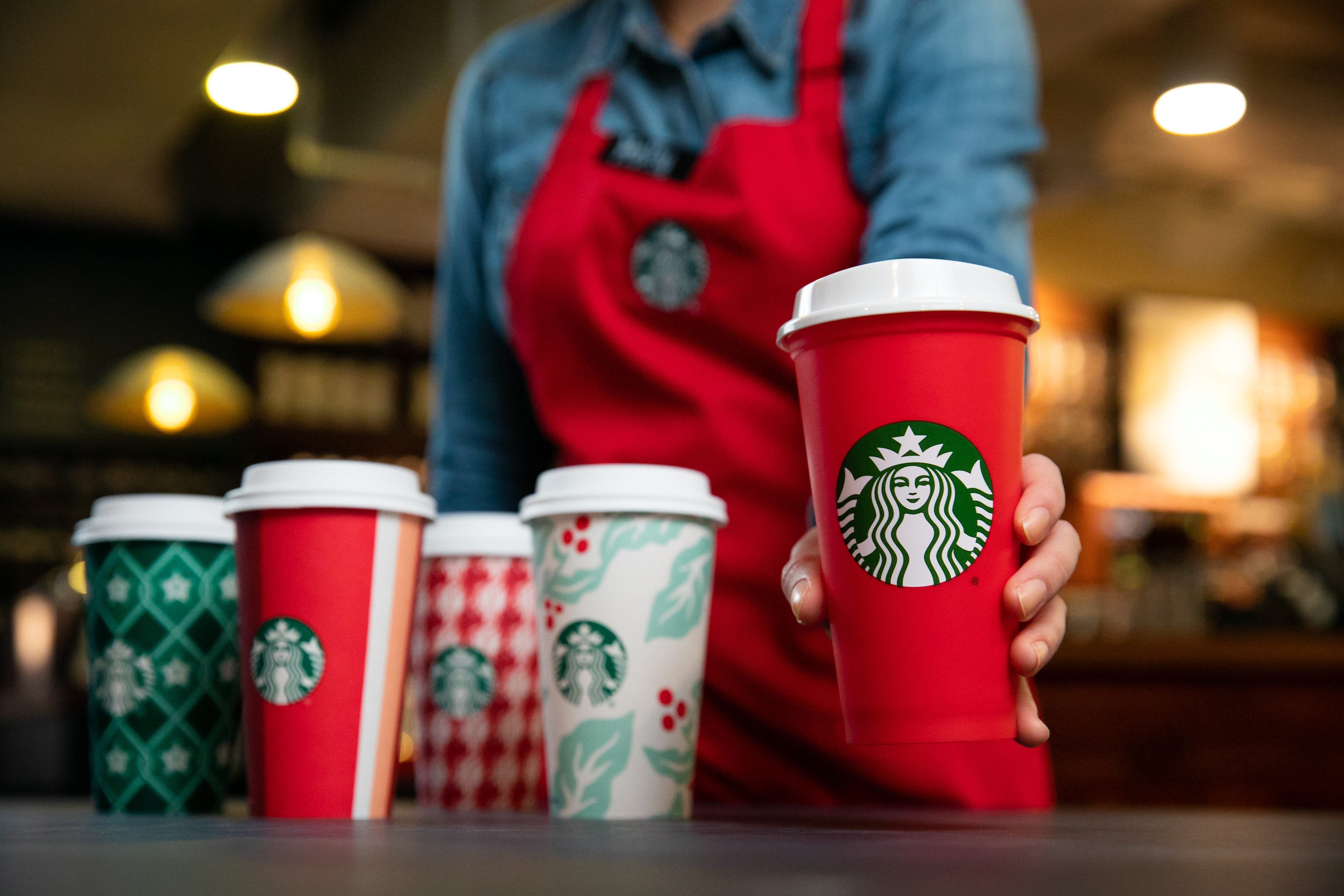 Starbucks Free Reusable Cups Today: Holiday 2018 Deal